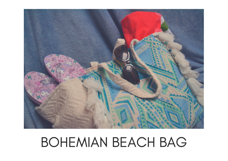 BOHO BEACH BAG LONG